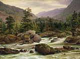 Thomas Fearnley Norwegian Waterfall Print