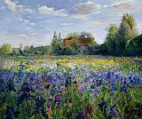 Timothy Easton Evening at the Iris Field Print