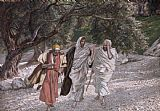 Tissot The Disciples on the Road to Emmaus Print