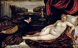 Titian Venus and the Organist Print