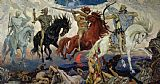 Victor Mikhailovich Vasnetsov The Four Horsemen of the Apocalypse Print