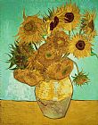 Vincent Van Gogh Sunflowers Print