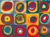 Wassily Kandinsky Colour Study Squares And Concentric Circles Print