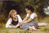 William Adolphe Bouguereau The Nut Gatherers (1882) Print