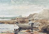 Winslow Homer Boys on the Beach Print